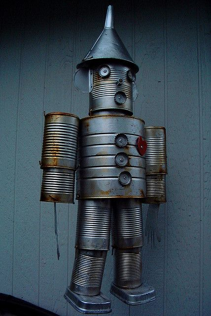 tin man made out of cans | tin man | Flickr - Photo Sharing!