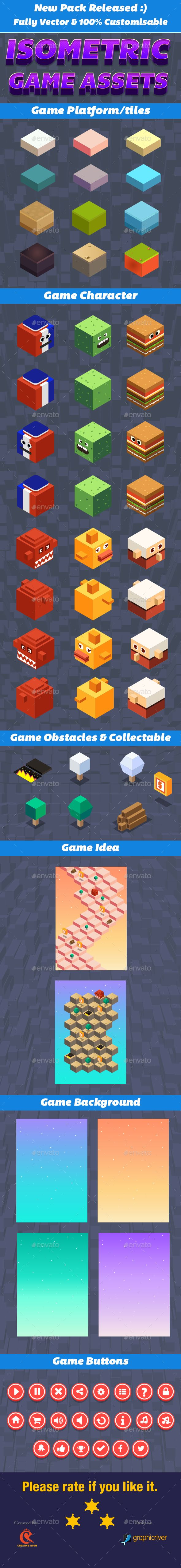 Isometric Game Character Sprite - User #Interfaces #Game Assets Download here: https://graphicriver.net/item/isometric-game-character-sprite/17124556?ref=alena994