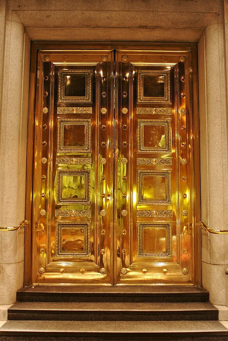 43 Best Gold Doors Images On Pinterest French Doors