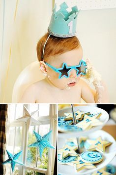 """Playful & Bright """"Twinkle Twinkle Little Star"""" First Birthday"""