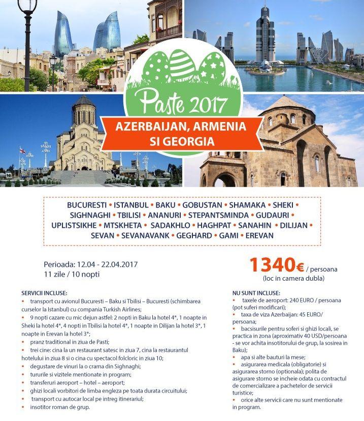 PASTE 2017 AZERBAIJAN, ARMENIA & GEORGIA Georgia, Armenia, Azerbaijan, Asia http://bit.ly/2jS7HuQ #travel #vacantadePaste