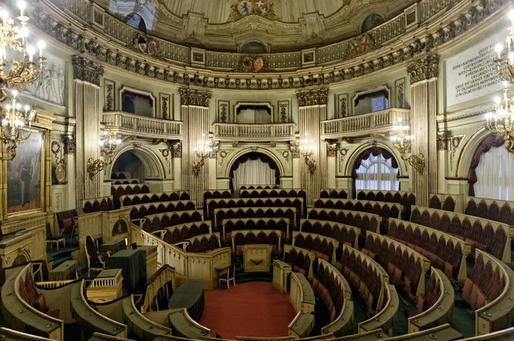 House of Deputies of the Subalpine Parliament, Turin, Italy #torino