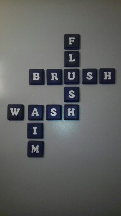 "Haha. I love ""aim!"" Bathroom decor idea."