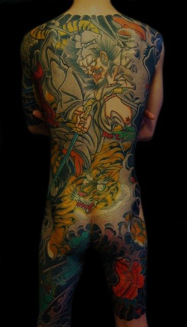 960 best images about japanese full body tattoo on for Japanese body tattoo