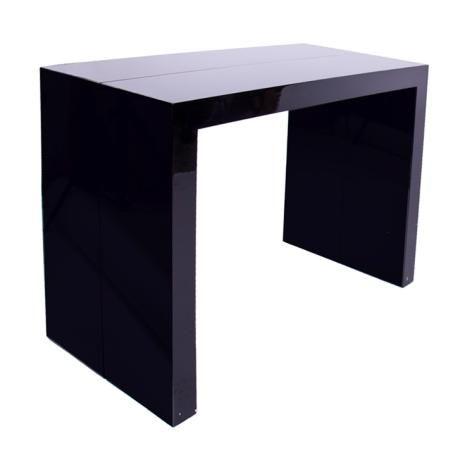 Стол-трансформер обеденный 103, черный от производителя Мередиан