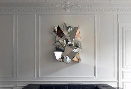 Froissé Mirror by Mathias Kiss