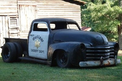 Outlaw Sheriff's Dept...IMAGINE and Cumming diesel with stack through hood