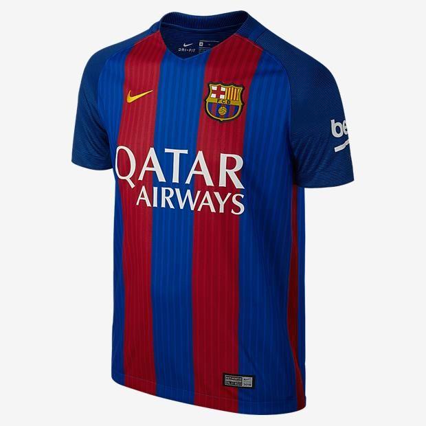 Novos uniformes do Barcelona