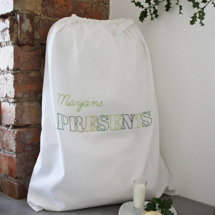 Are you interested in our Personalised White Christmas Sack? With our personalised drawstring bag you need look no further.
