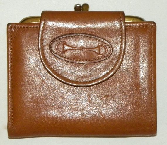 Vintage ROLFS Wallet / coin purse / Bill by JewvenchyVintageshop