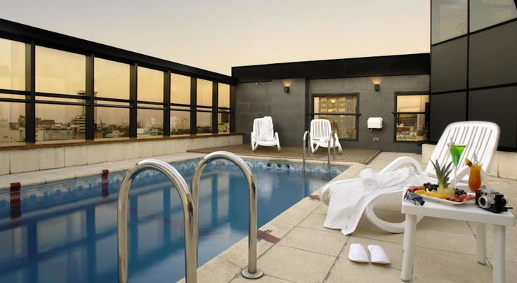 Aspen Towers Hotel Buenos Aires Boasting a seasonal outdoor swimming pool and a hot tub, Aspen Towers Hotel is a modern boutique hotel located in Buenos Aires, 400 metres from Plaza San Martín Square and 700 metres from The Obelisk of Buenos Aires.