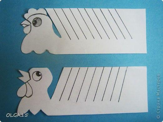 Master Class Bumagoplastika Papír madarak Paper 4. kép