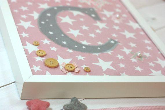 Girls nursery decoration/Personalized baby's by CottonLullabyShop