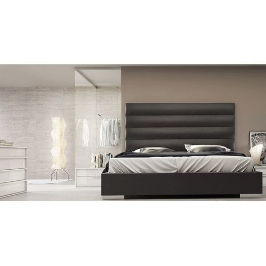 You'll love the Prince Upholstered Platform Bed at AllModern - With Great Deals on modern Bedroom  products and Free Shipping on most stuff, even the big stuff.