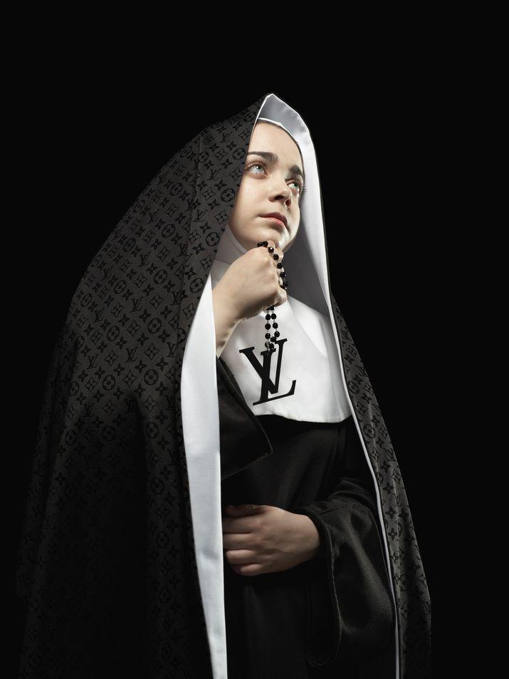 Nun (Self initiated) by Lo Siento Studio, Barcelona