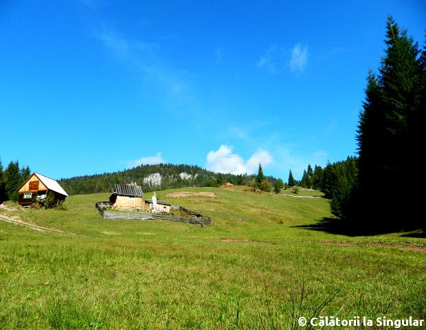 Landscape - - Stone House hamlet, Natural Apuseni Park, Transylvania, Romania
