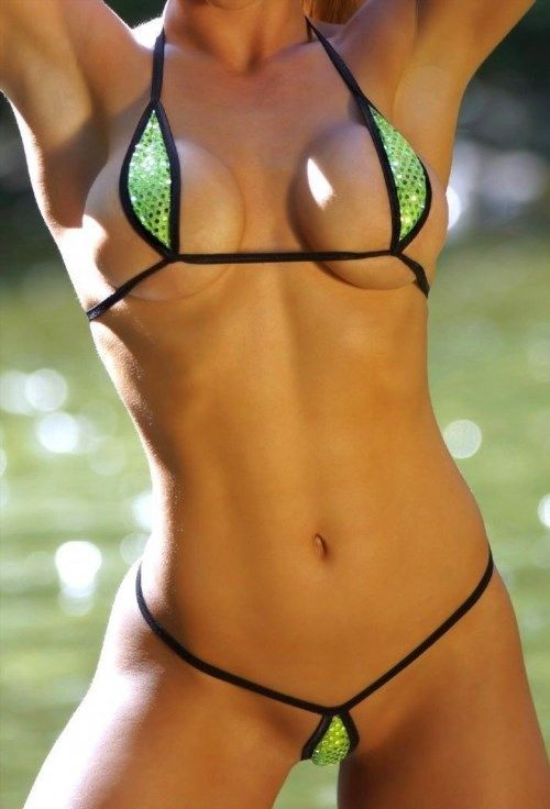 19.95$  Watch here - http://viapk.justgood.pw/vig/item.php?t=bx036x36806 - Green Sequin Sexy Mini Teardrop Bikini 2pc Micro G-String See Through Mesh DARE 19.95$