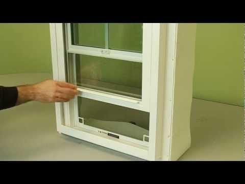 How To Replace A Tilt Window Spiral Balance Diy Videos
