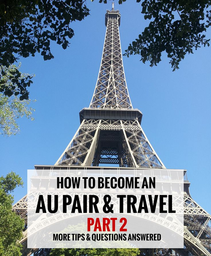 How to become an au pair & travel - more tips on #travel as an #aupair for the best #adventure of your life!