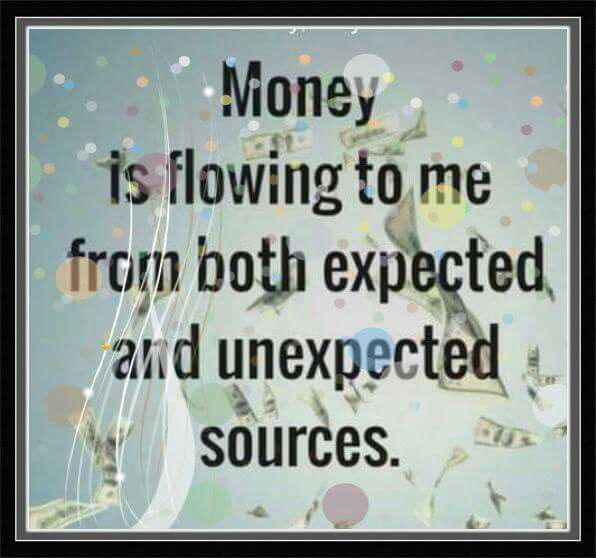 Loving the infinite flow of money