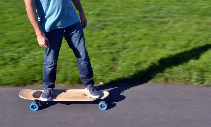 Ride Effortlessly With This Electric Powered Skateboard