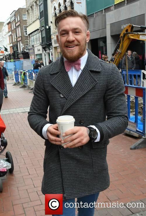 Conor McGregor Pink Bowtie