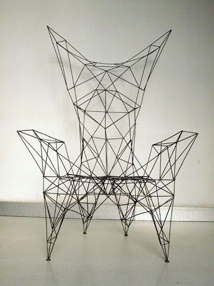 angleterre, tom Dixon, pylon chair