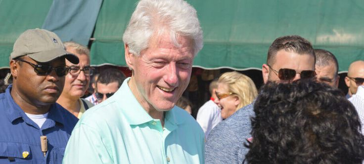 Bill Clinton's Health Questioned After He Was Caught Doing THIS At Campaign Rally