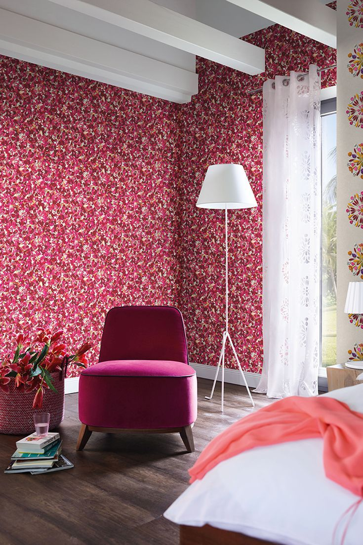 living flower wallpapers colors true interior via