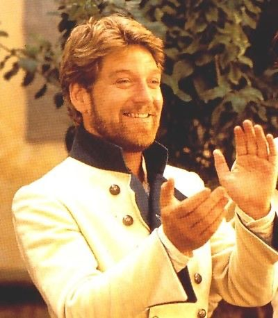 Kennety Brannagh in Much Ado about Nothing...one of my favorite Shakespeare plays and my favorite movie adaptation of it