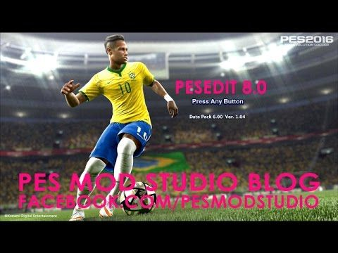 PES 2013: PESEdit 8.0 Lastest Patch Season 2015/2016 New 1.4GB | GG-Games