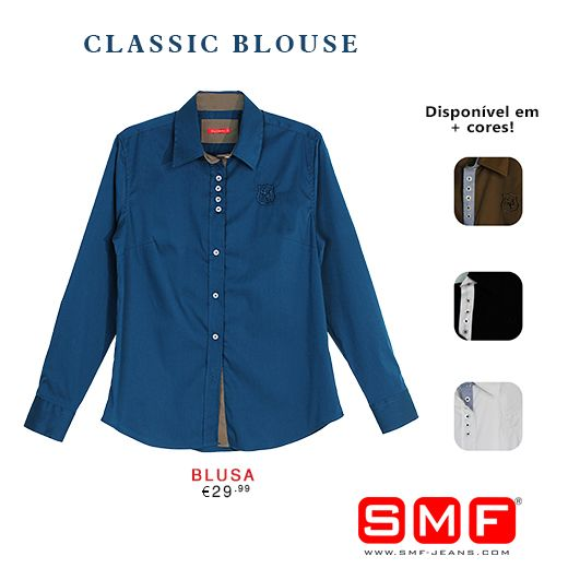 Must Have > > SMF Shop Online! > > Classic Blouse Shop Here: http://www.smf-jeans.com/blusa-8172