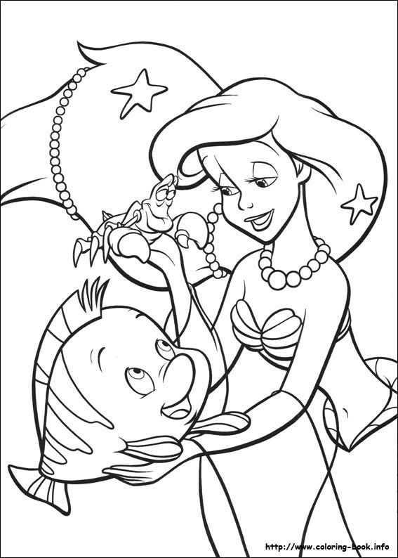 142 best Little Mermaid Colouring page images on Pinterest