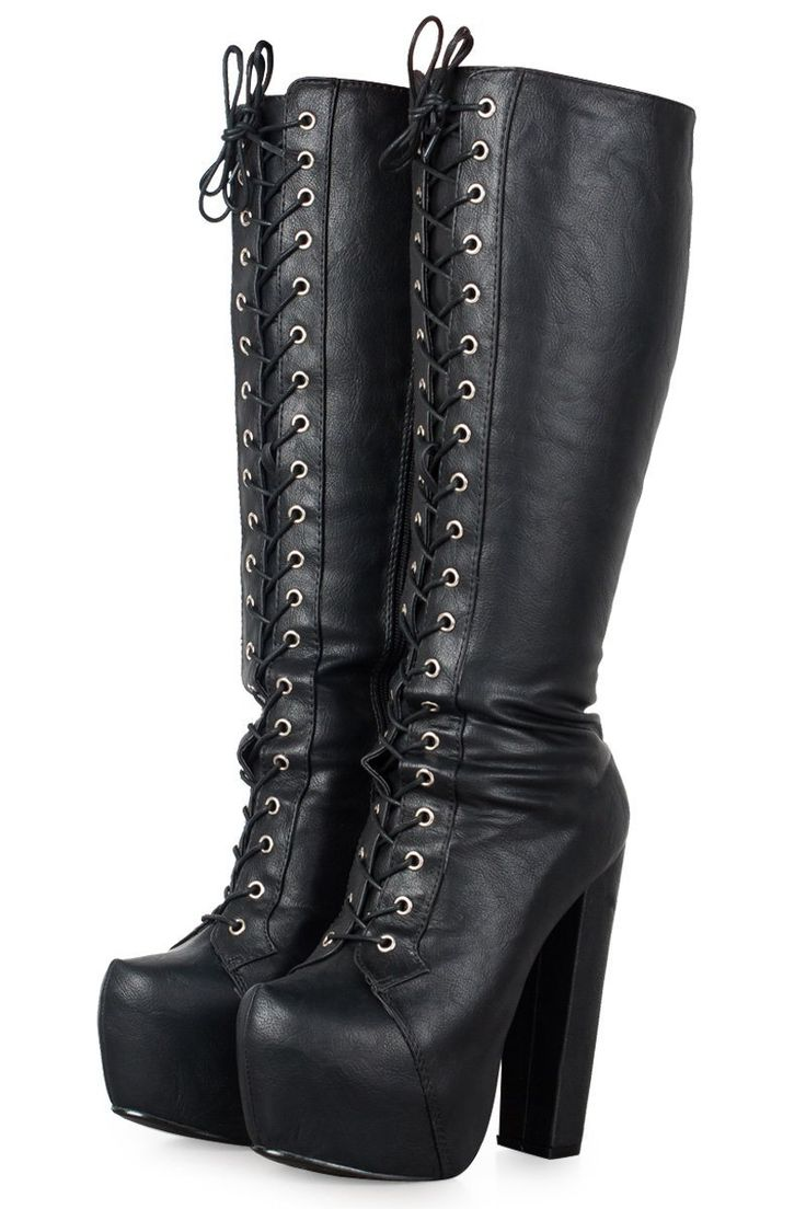 i need to get my combat boots out of the closet!!! glad i keapt them from high school and my goth days :)