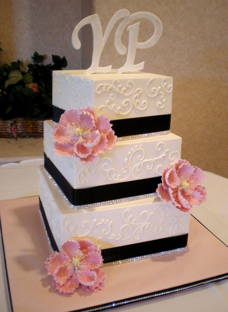 ribbon size for wedding cake 33 best wedding cakes images on alcoholic 19217