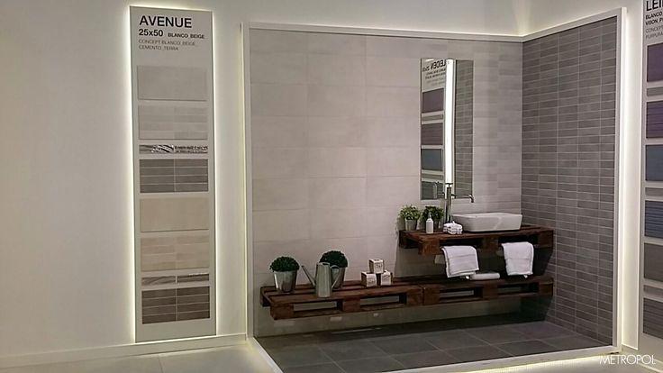 #Novedad de #Metropol: colección Avenue desde #Cersaie2015 #Cersaie #tiles #cerámica #porcelánico