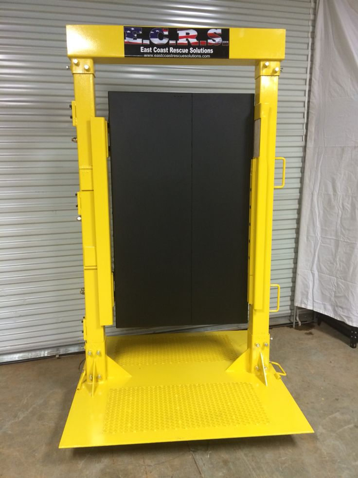 New Forcible Entry Door For 2015 East Coast Rescue