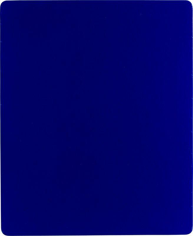 KLEIN Yves  monochrome bleu, 1960 99x153cm MNAM pigment pur et résine synthétique sur toile marouflée sur bois