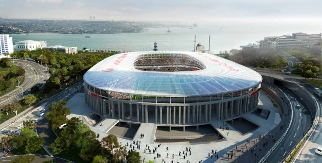 Vodafone Arena'nın İlk Teknolojik Stadyum Çatısı