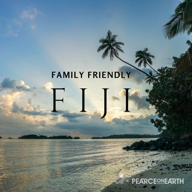 Family friendly Fiji. What to do and see with your family in Fiji.