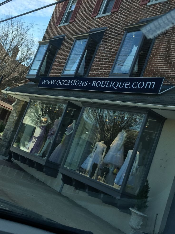 Support small boutiques in the town of Malvern