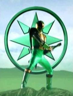 green samurai ranger ninja storm | Power Rangers Ninja Storm - Green Samurai - Rangergallery