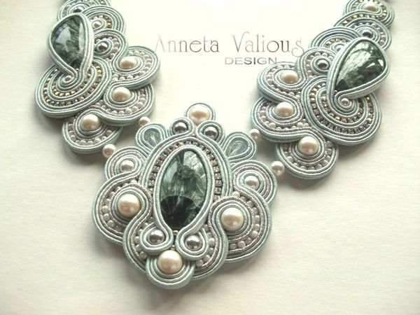 Calypso necklace  by Anneta Valious
