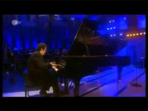 """Pianist Arcadi Volodos plays his own transcription of Bizet's """"Spanish W..."""