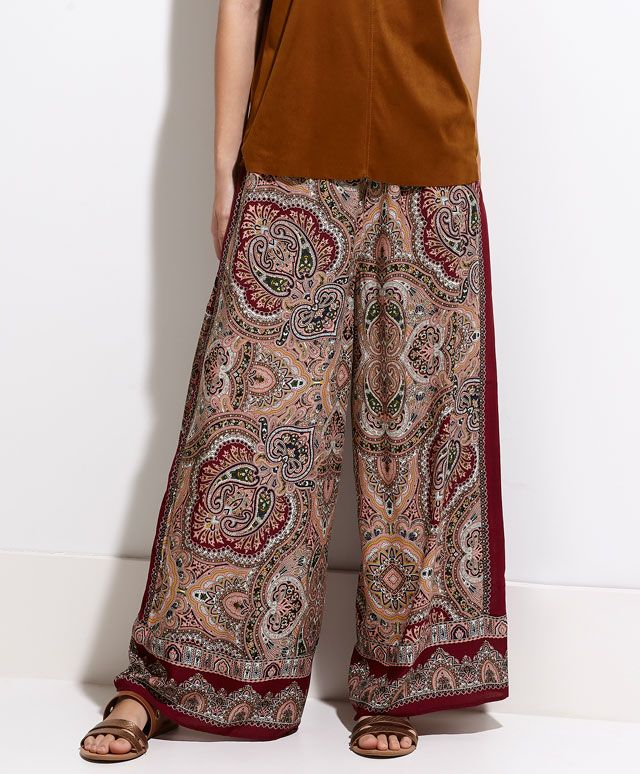 Long scarf trousers - OYSHO