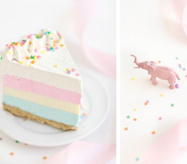 three birthday cheesecake birthday cake cheesecake rainbow cheesecake ...