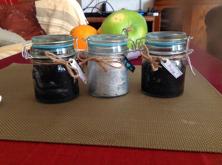 "#diy mason jars ""galaxy"" candles"