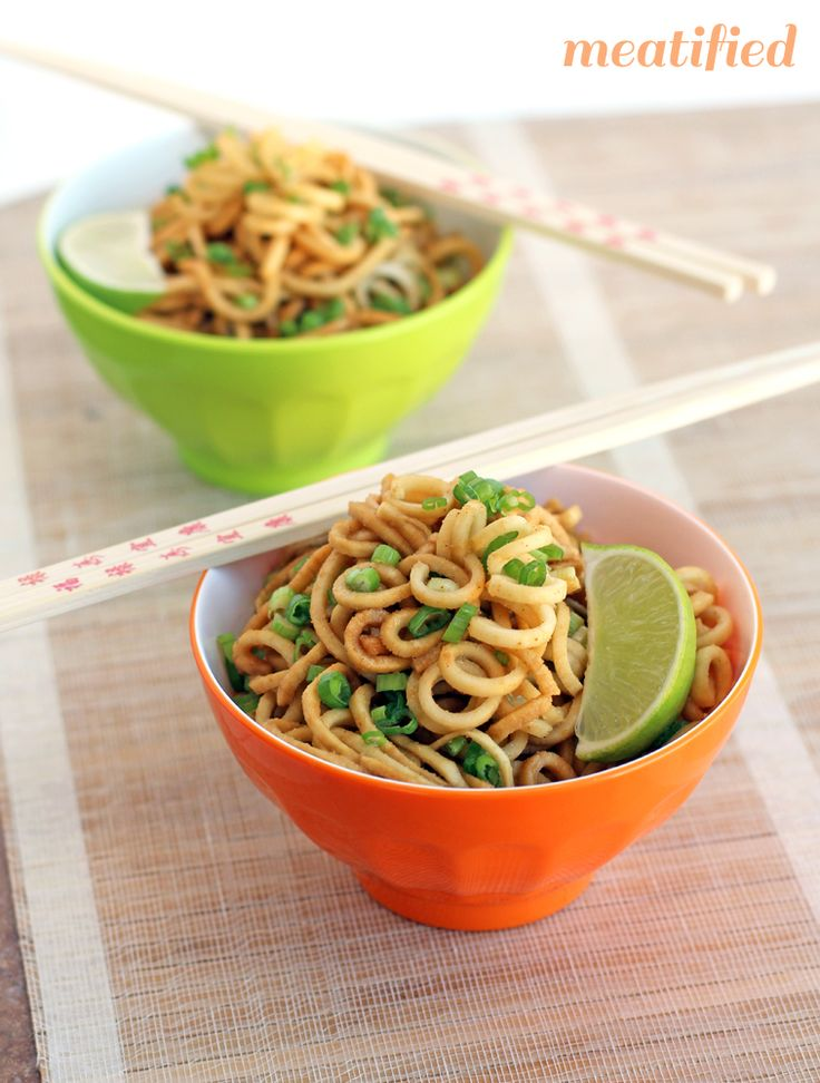 Ginger Garlic Parsnip Noodles: no grains, dairy, eggs, nuts, seeds or nightshades!