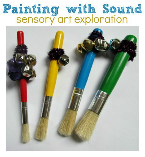 Painting with Sound   - Pinned by @PediaStaff – Please Visit ht.ly/63sNtfor all our pediatric therapy pins