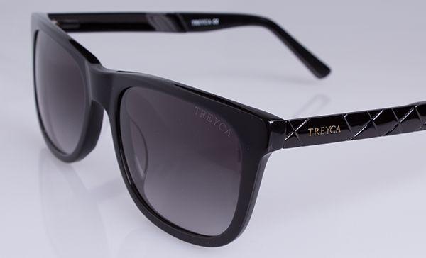 Treyca Wayfarer Sunglasses Black. #Treyca #Sunglasses